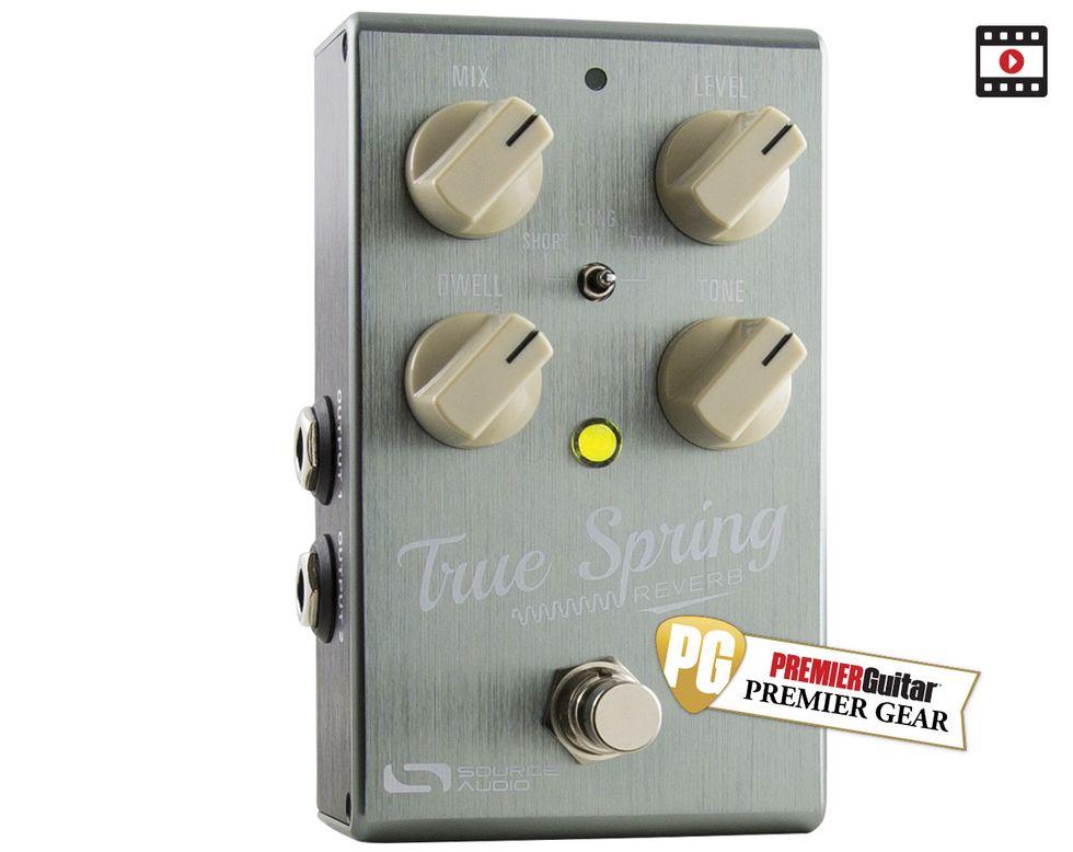 Source Audio True Spring Review   Premier Guitar