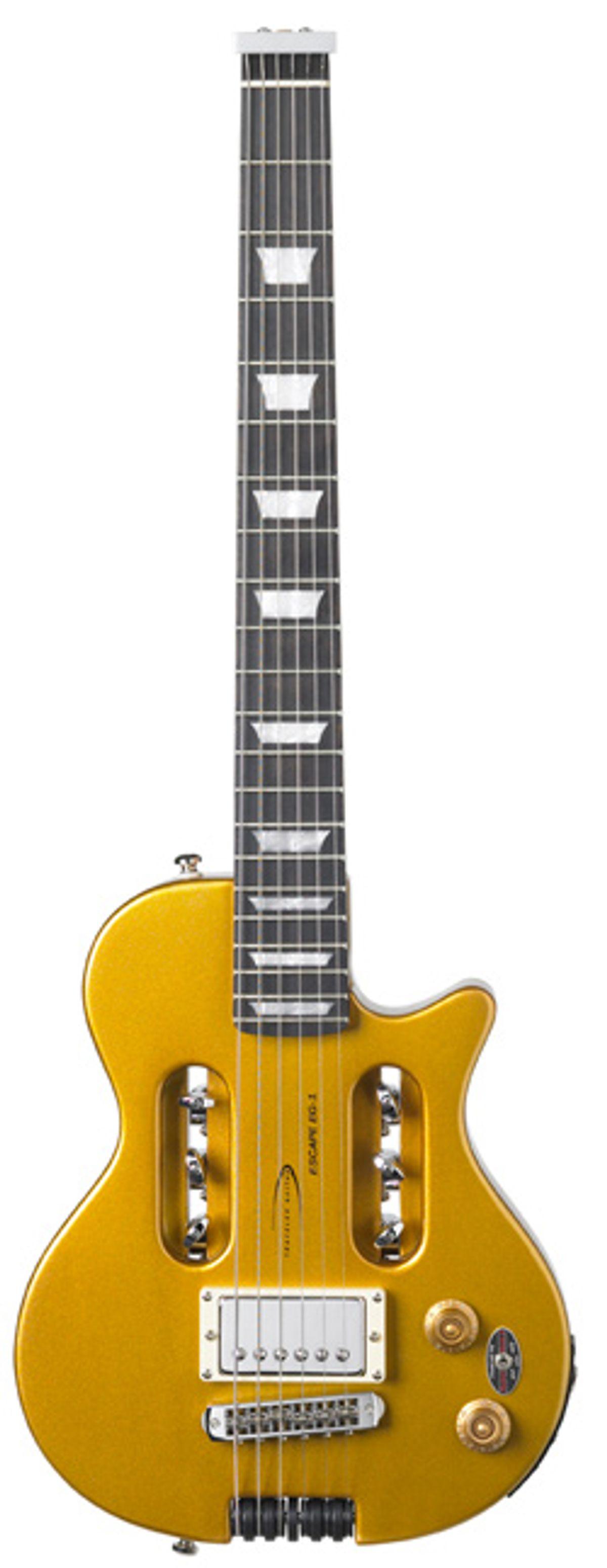Traveler Guitar Announces Escape EG-1 Vintage Gold