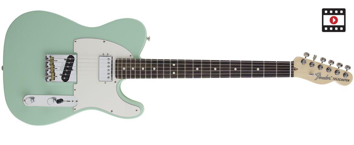Fender American Performer Telecaster Hum Review