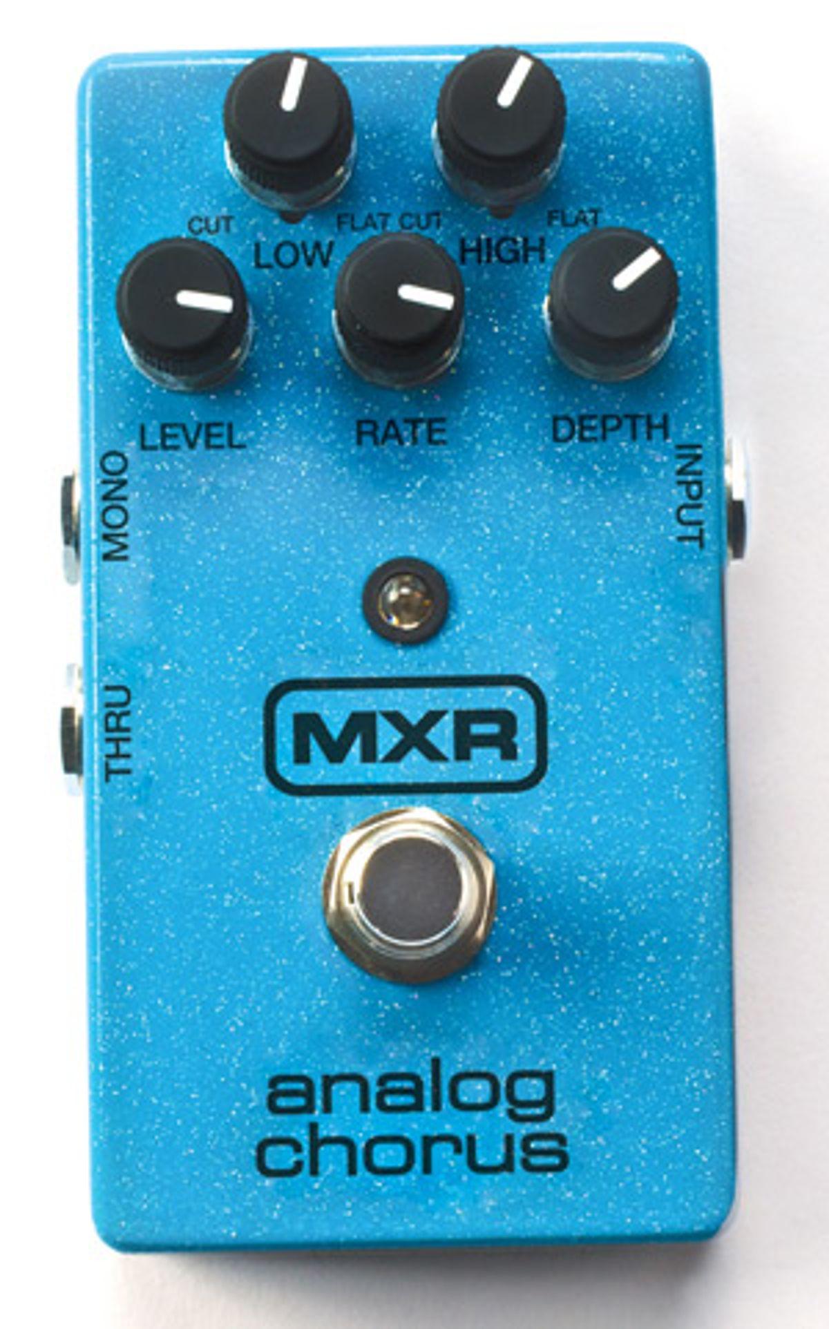 Dunlop Releases MXR Analog Chorus