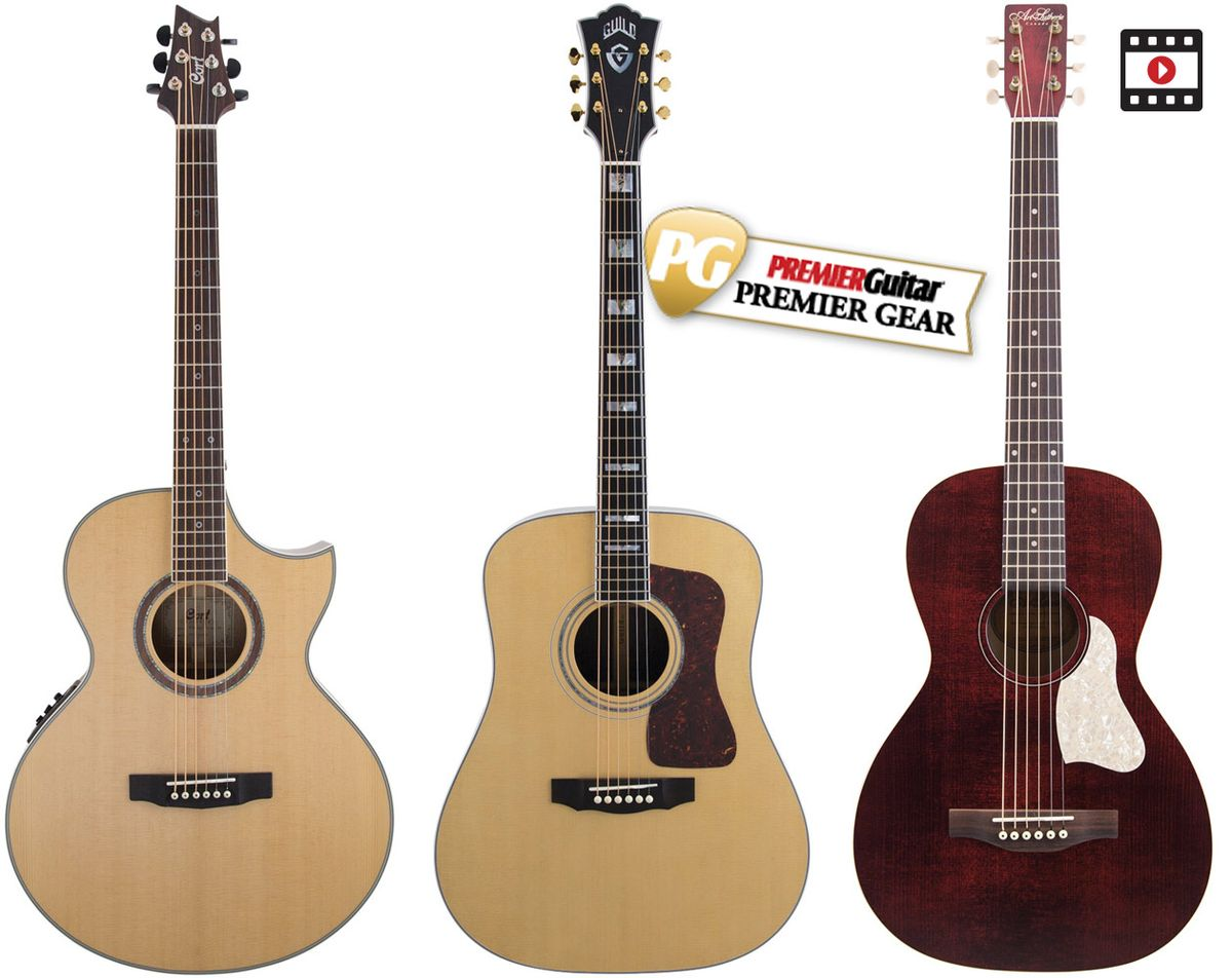 Flattop Finesse: Acoustic Steel-String Review Roundup