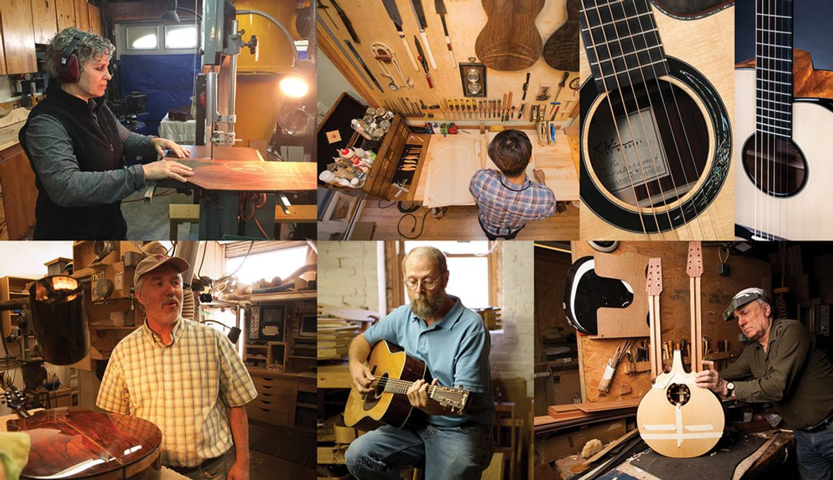 Divine Obsession: 5 High-End Acoustic Guitar Builders