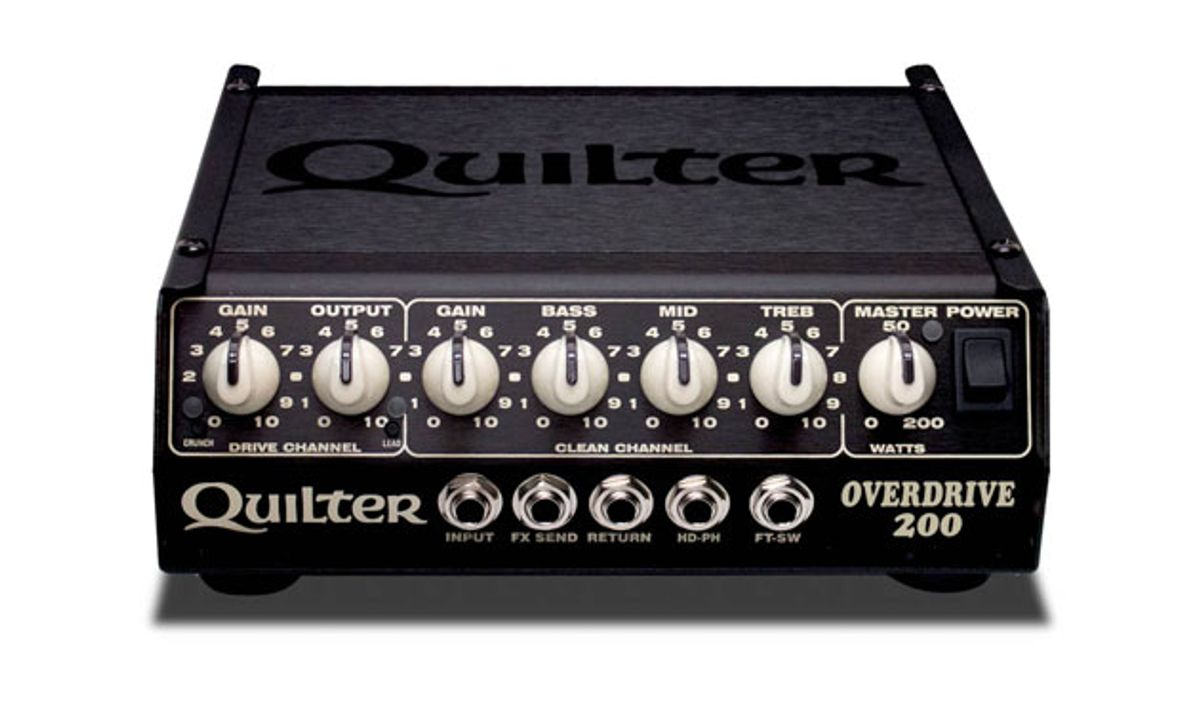 Quilter Labs Announces the OverDrive 200