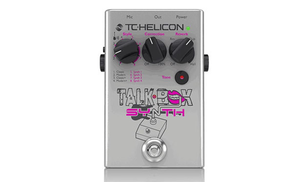 TC Helicon Releases the TalkBox Synth