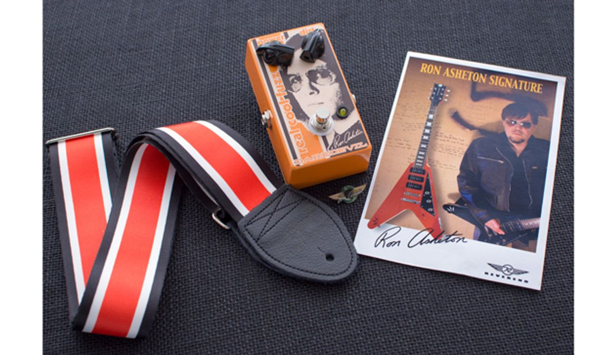 Reverend Guitars, Daredevil Pedals, and Souldier Straps Collaborate on the Ron Asheton Legacy Fun Pack