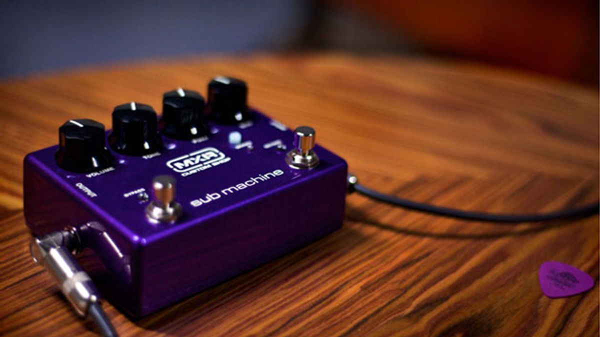 Dunlop Releases the Sub Machine Fuzz