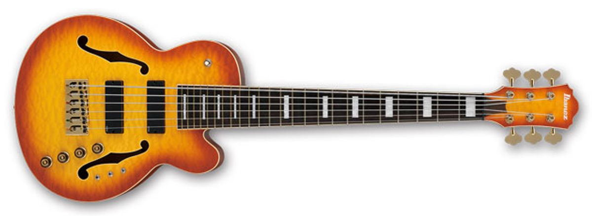 Ibanez and Thundercat Launch the TCB1006 6-String Bass