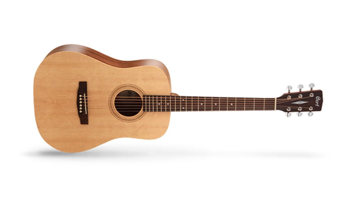 Cort Introduces the Earth50 Acoustic Guitar
