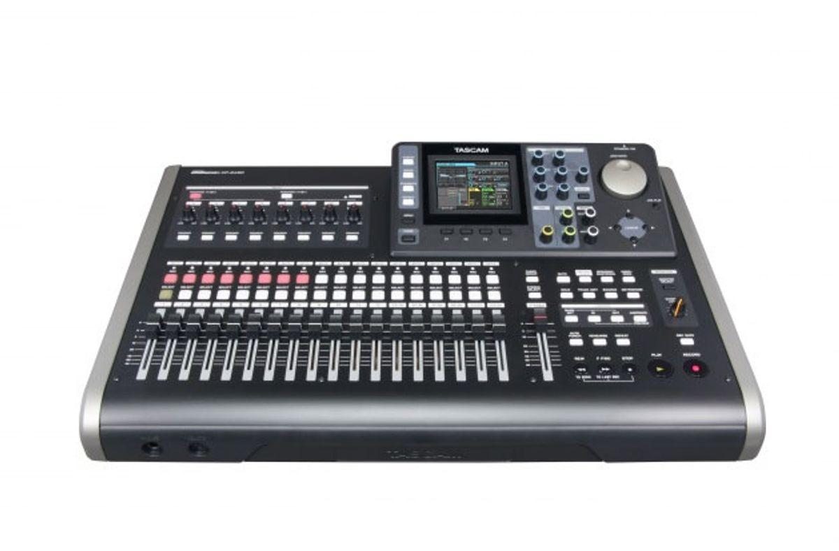 Tascam Unveils DP-24SD Digital Portastudio