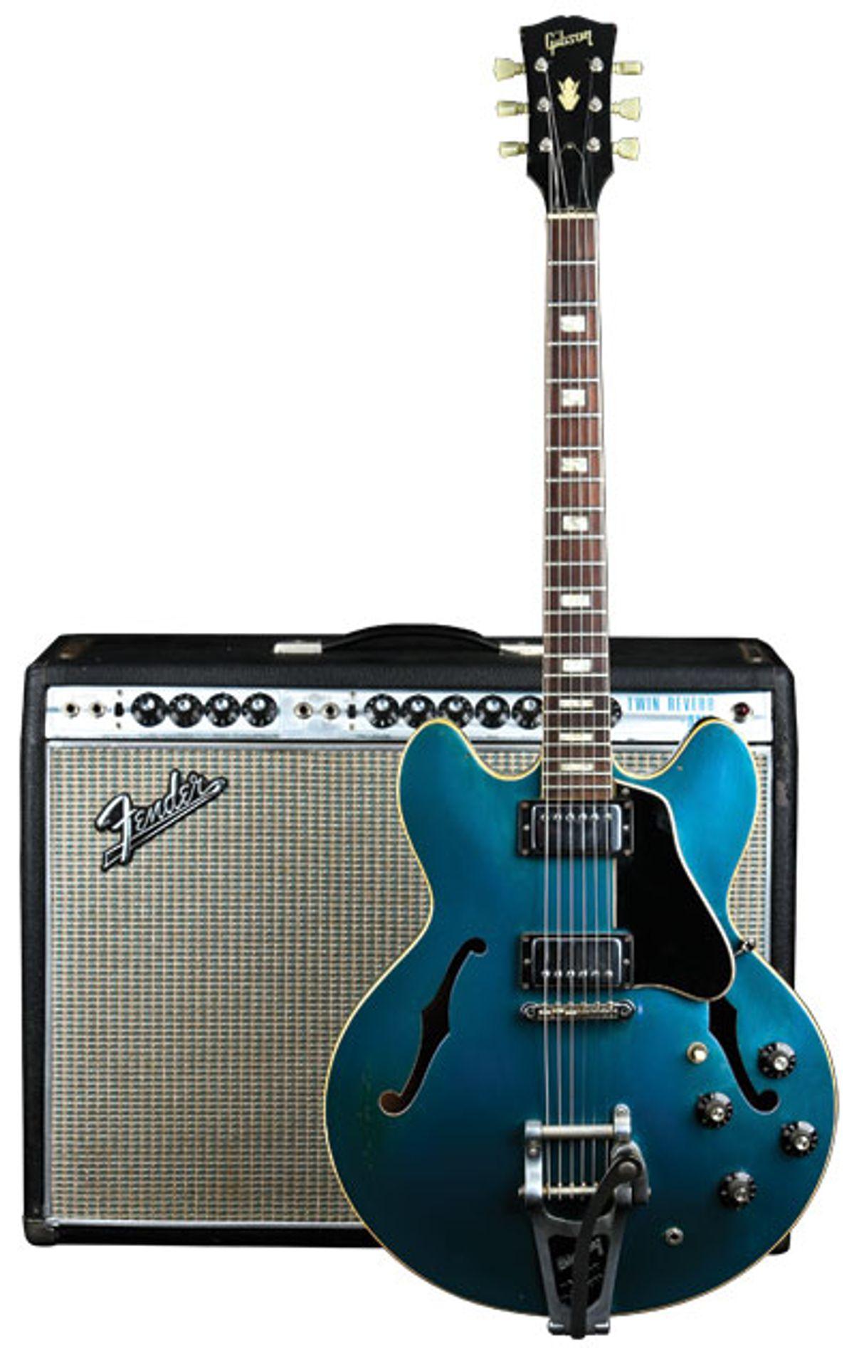 Vintage Vault: 1967 Gibson ES-335TD Pelham Blue