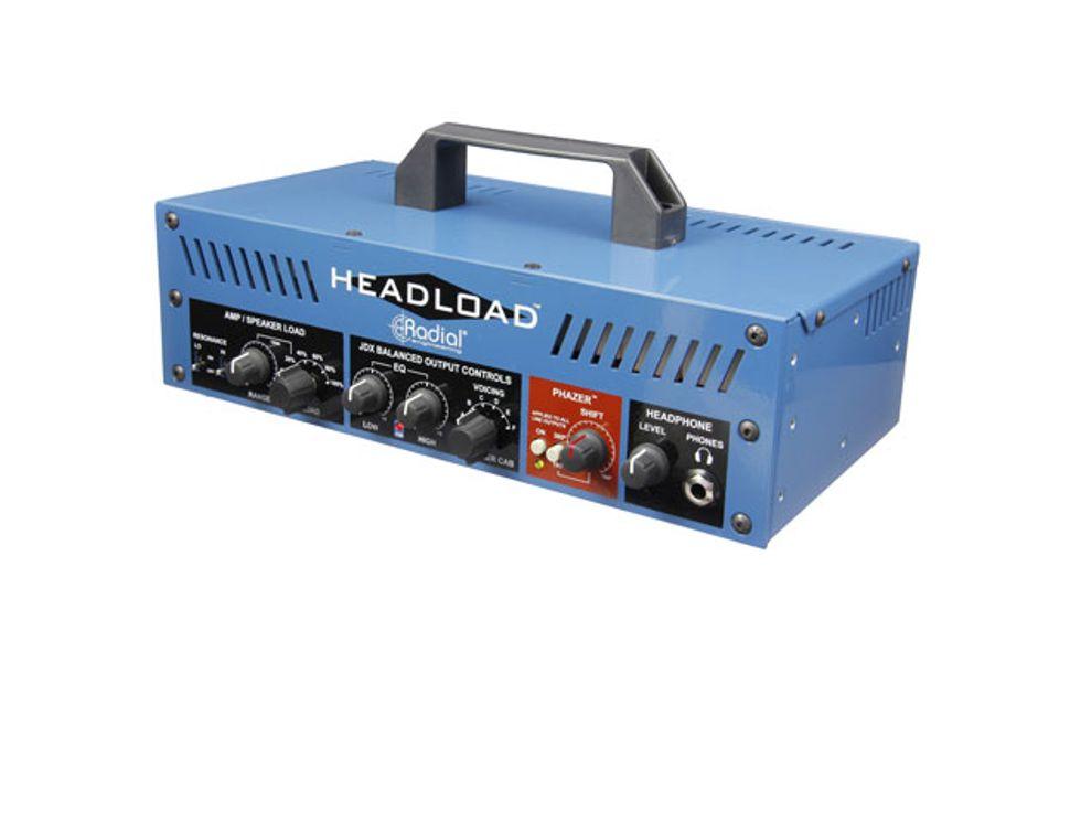 radial introduces the headload attenuator 2015 04 13 premier guitar. Black Bedroom Furniture Sets. Home Design Ideas
