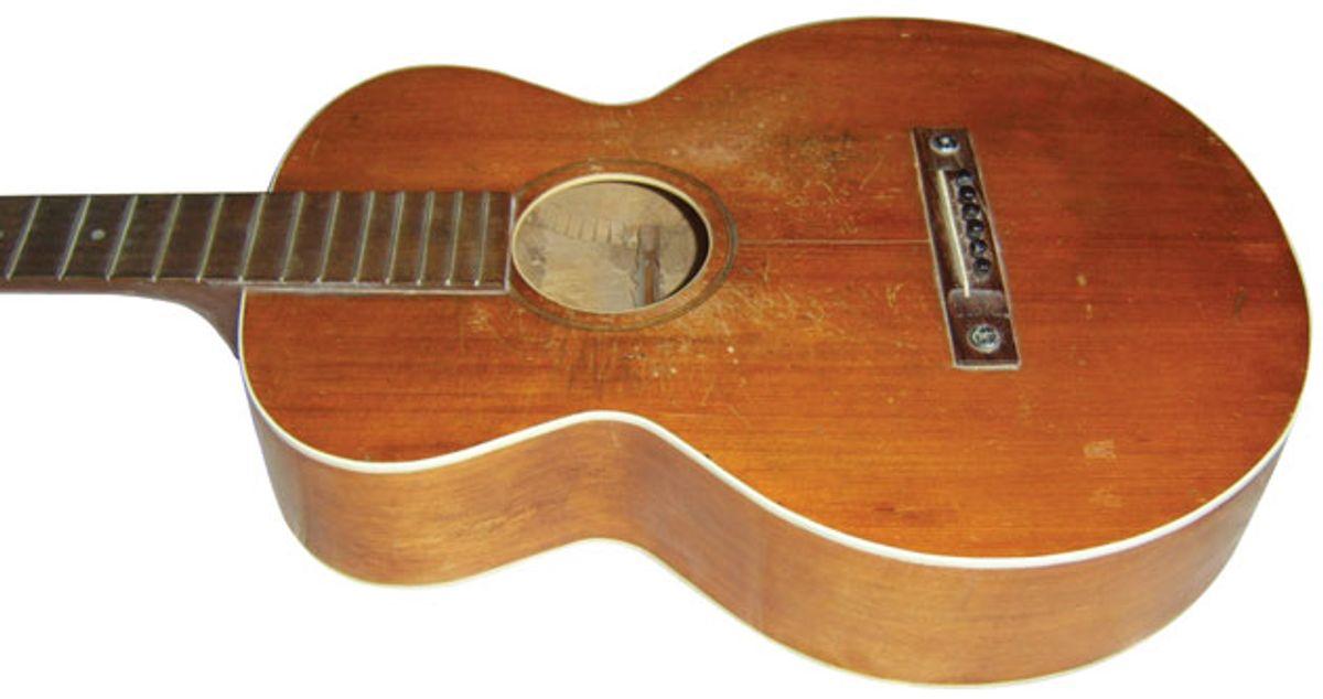 Trash or Treasure: 1927 Gibson L-0