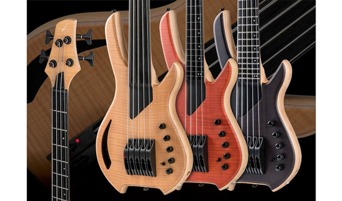 Willcox Guitars Releases the 2018 Saber Bass