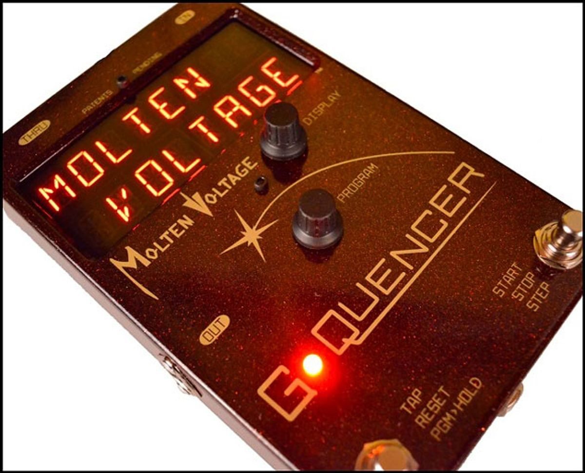 Molten Voltage Releases the G-Quencer