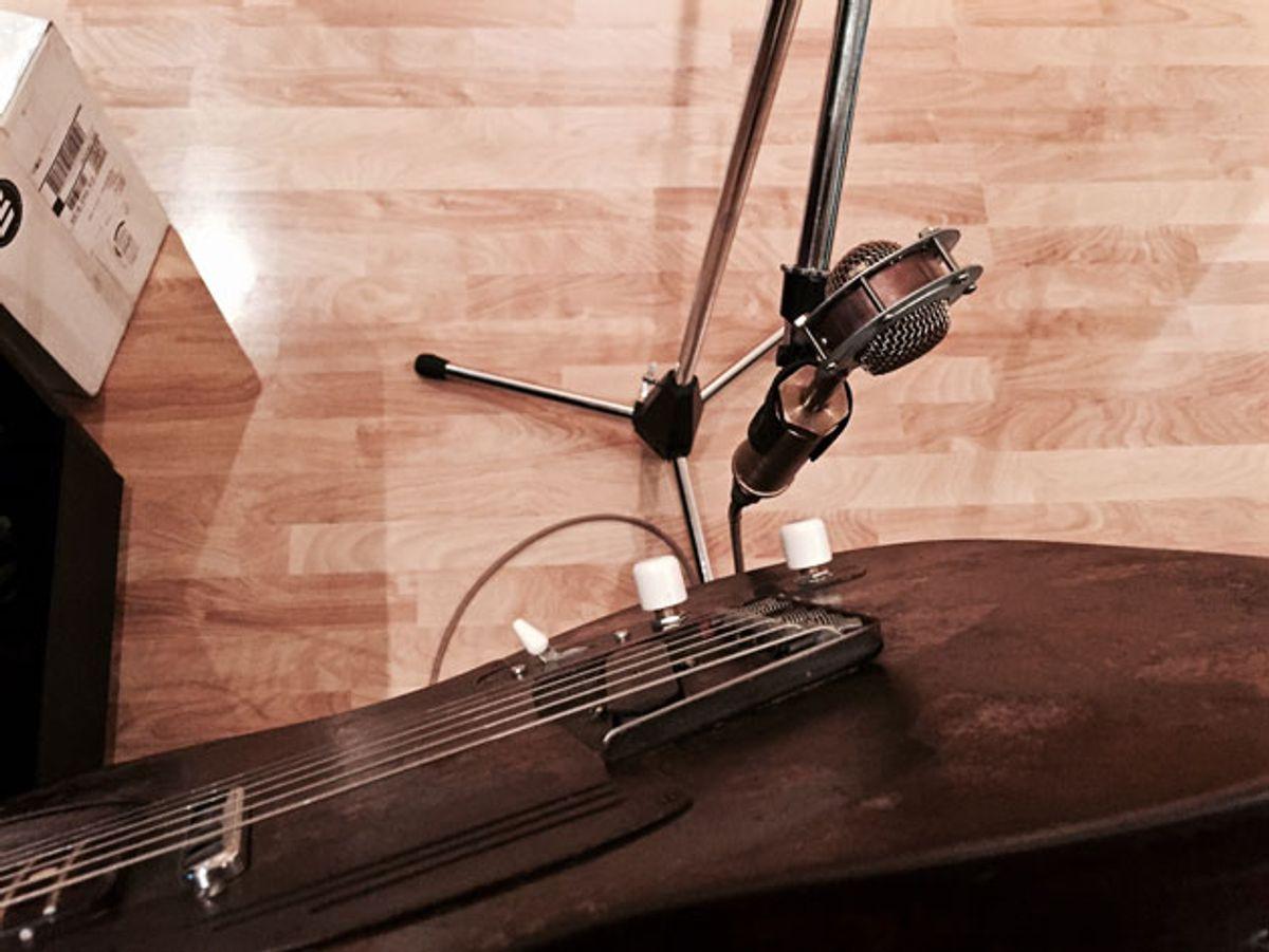 The Recording Guitarist: Stick That Mic Where the Sun Don't Shine
