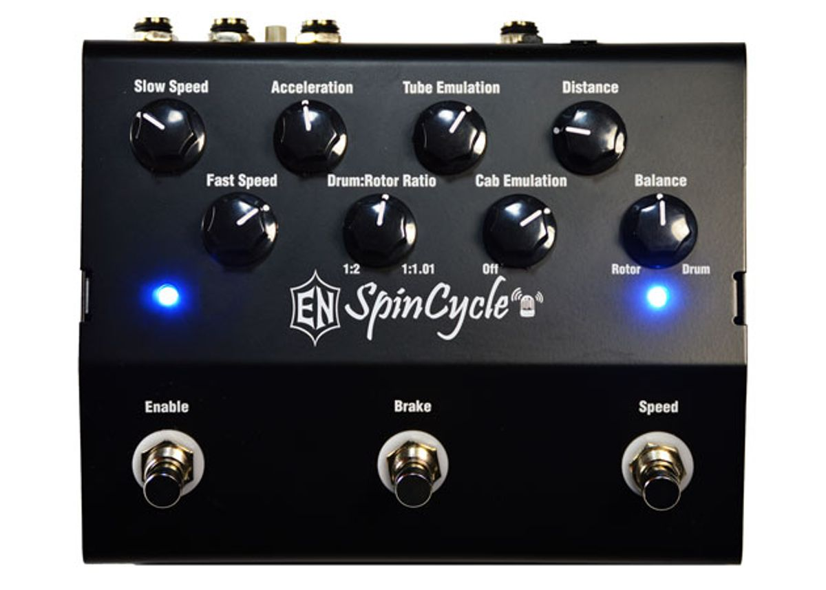 Experimental Noize Releases SpinCycle Rotary Speaker Pedal