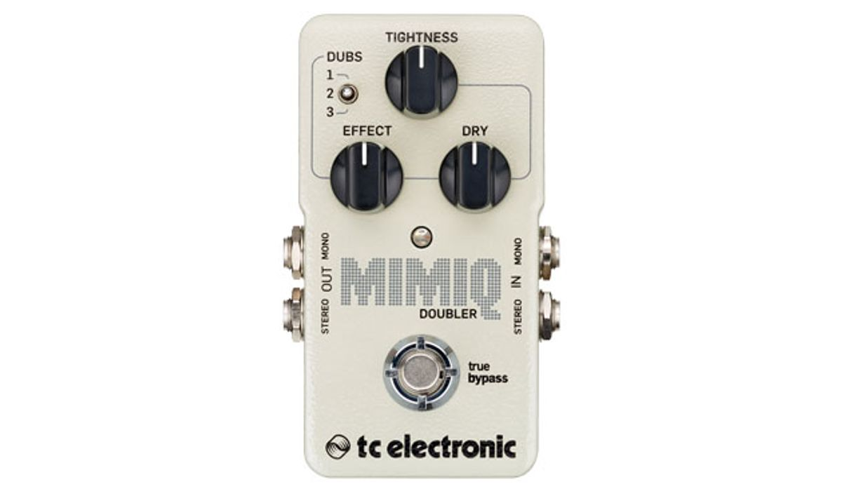 TC Electronic Introduces the Mimiq Doubler