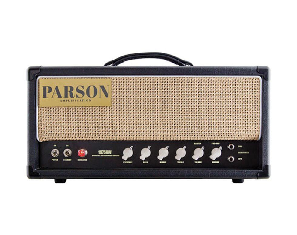 parson 1975hw review premier guitar rh premierguitar com Millet Amp Tube Point to Point Tube Amp