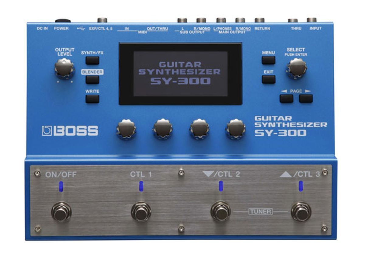 Roland Announces SY-300 Guitar Synthesizer and Expands Blues Cube Amp Series