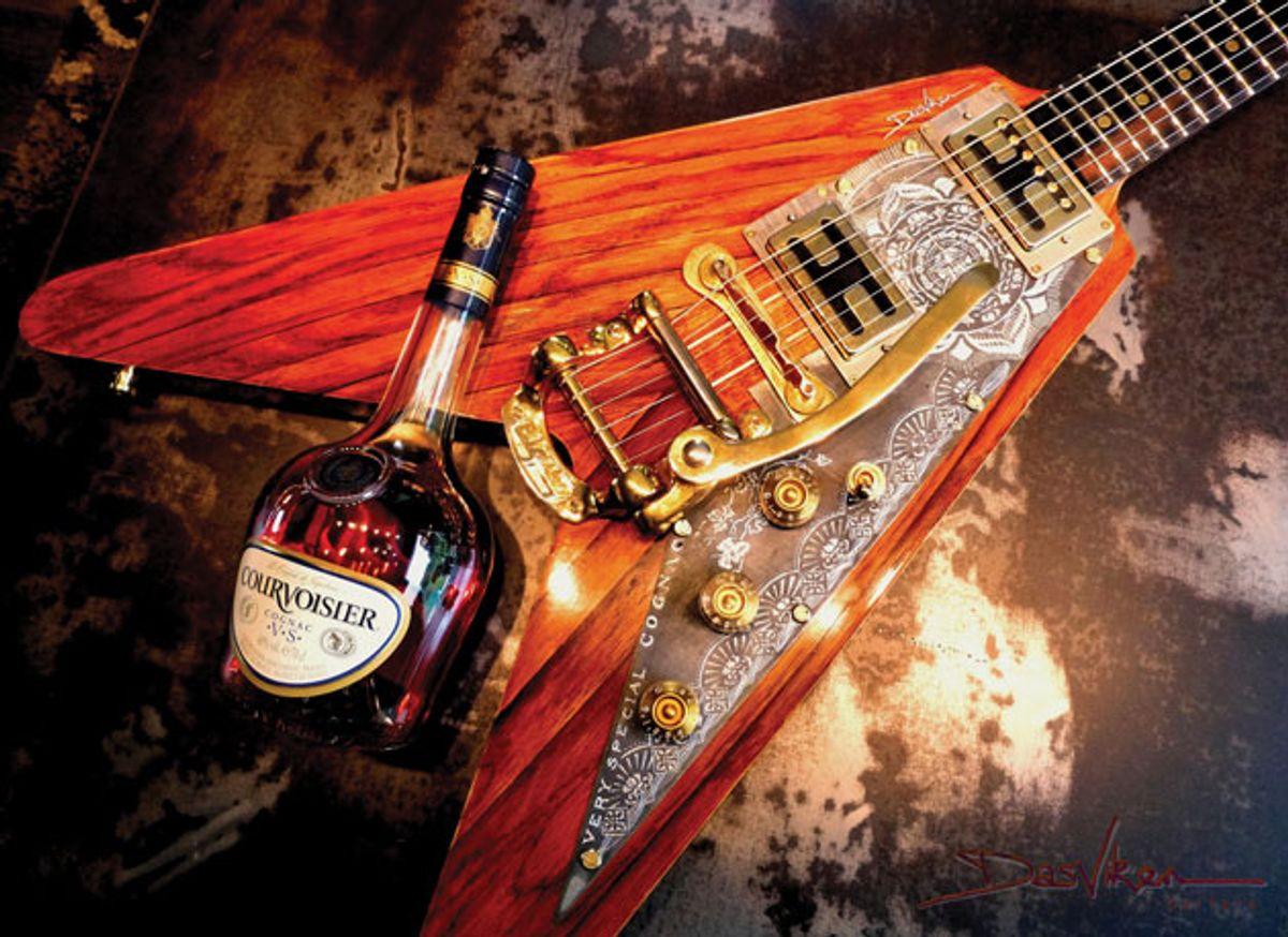 Reader Guitar of the Month: Cognac Flying V