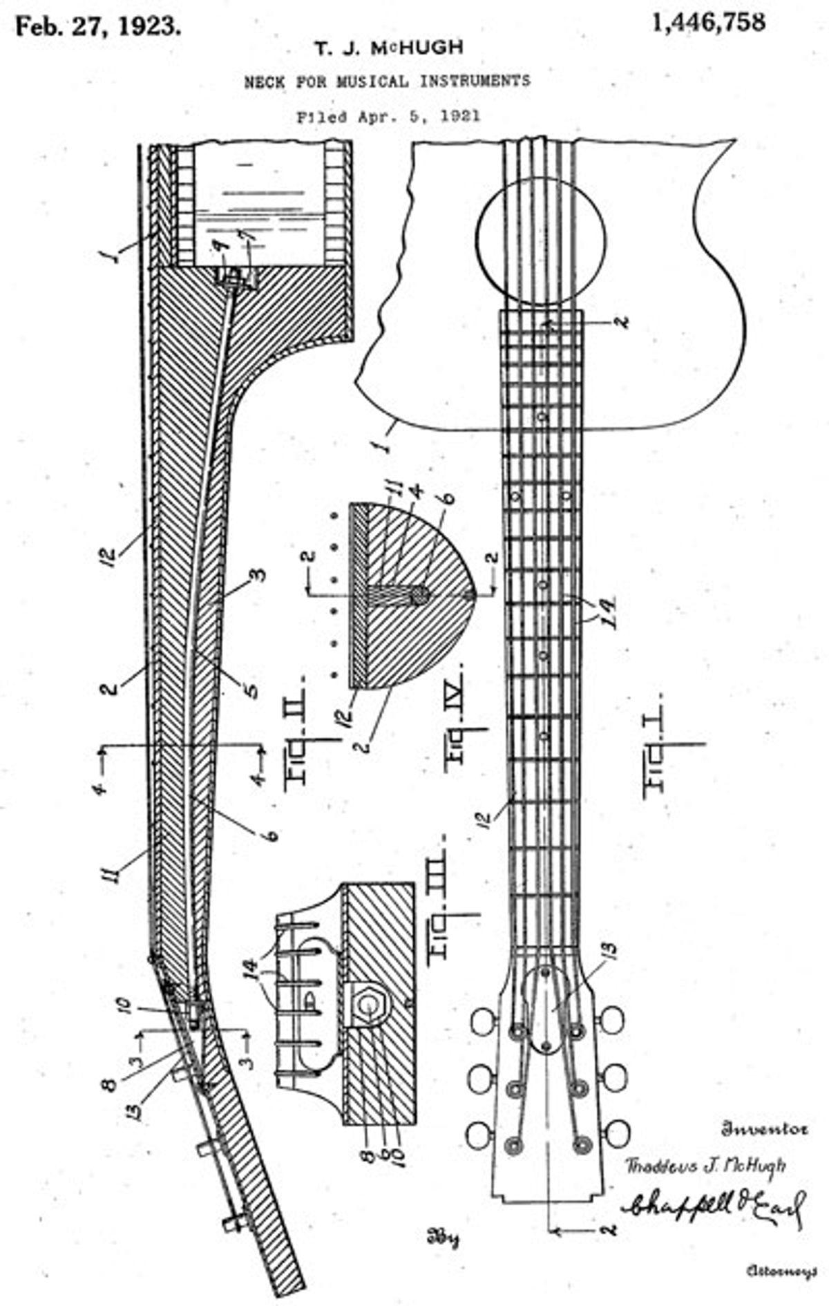 Bass Bench: The Magic Truss Rod