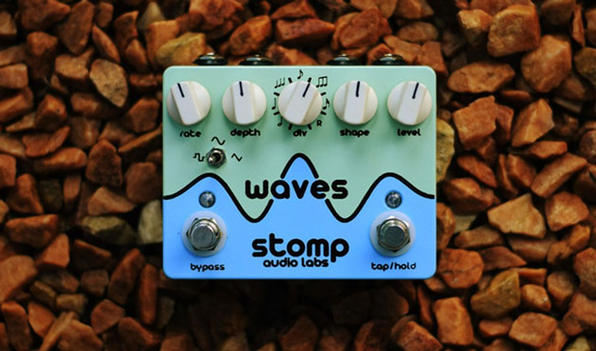 Stomp Audio Labs Releases the Waves