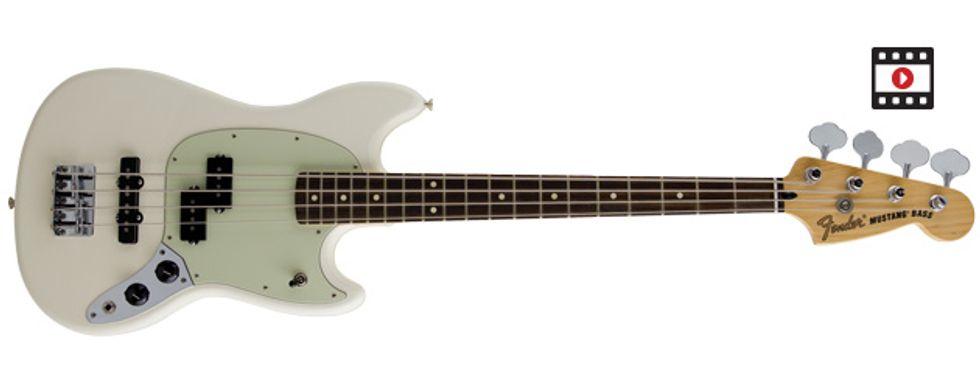 Fender Mustang Bass PJ Review | Premier Guitar  Fender Mustang ...