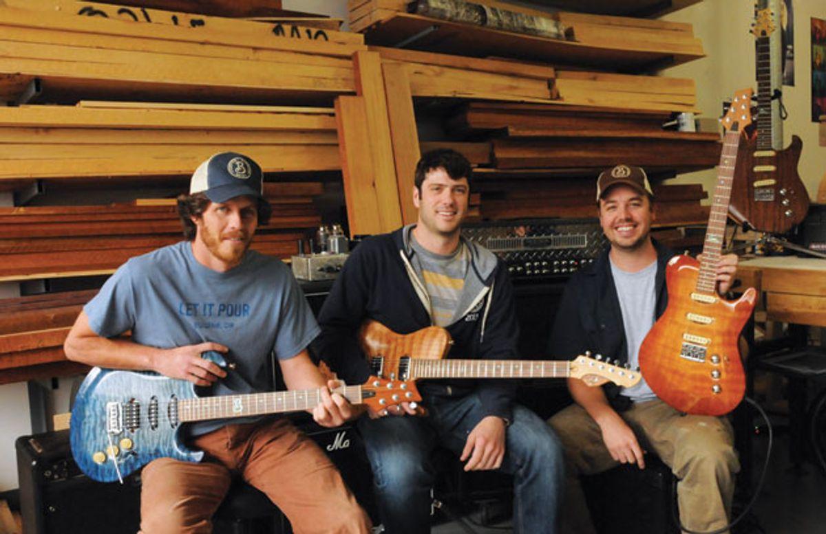 Builder Profile: Born Custom Guitars