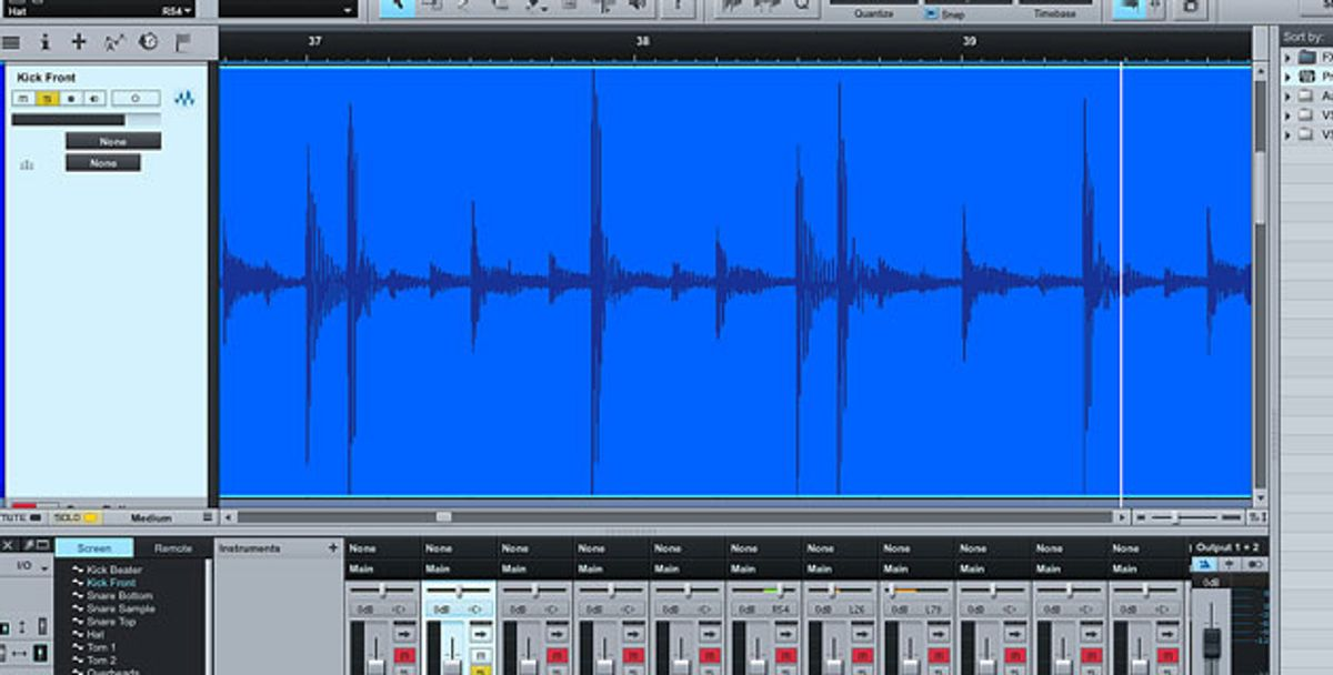 Guitar Tracks: Cleaning a Mix