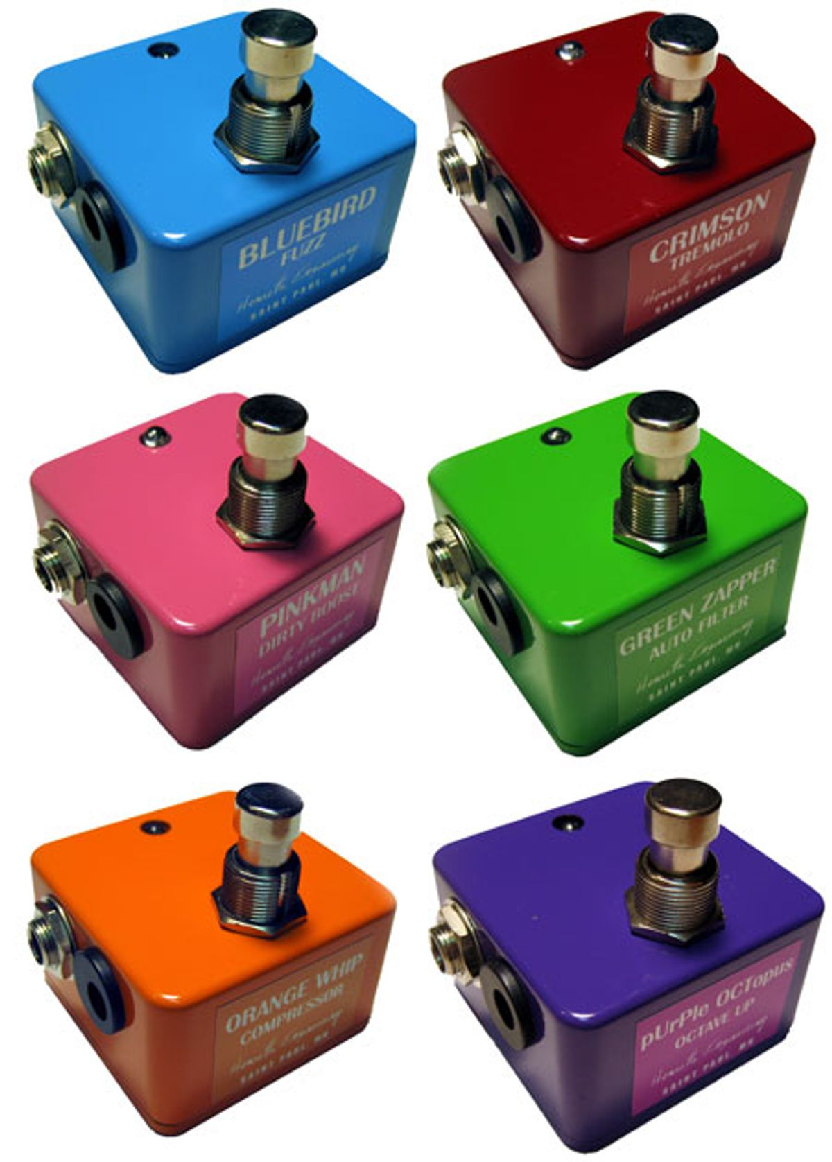 """Henretta Engineering Releases """"No-Knob"""" Line of Pedals"""