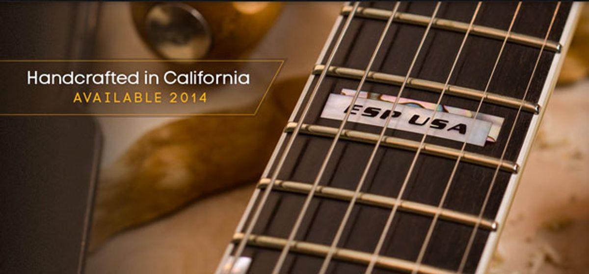 ESP Guitars to Open First U.S. Factory