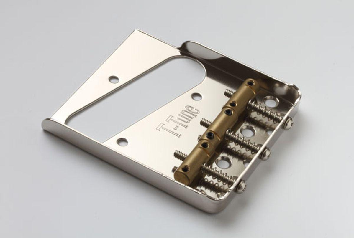 T-Tune Introduces Internally Aged Telecaster Bridge Plates