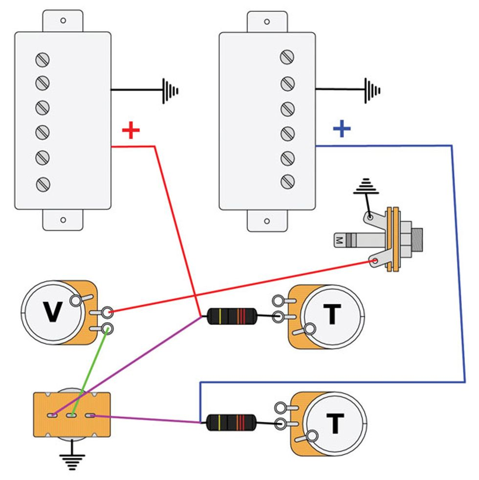 Mar16_PG_CLM_Mod Garage_Fig 1_WEB mod garage les paul master wiring 3 premier guitar wiring diagram for les paul guitar at eliteediting.co