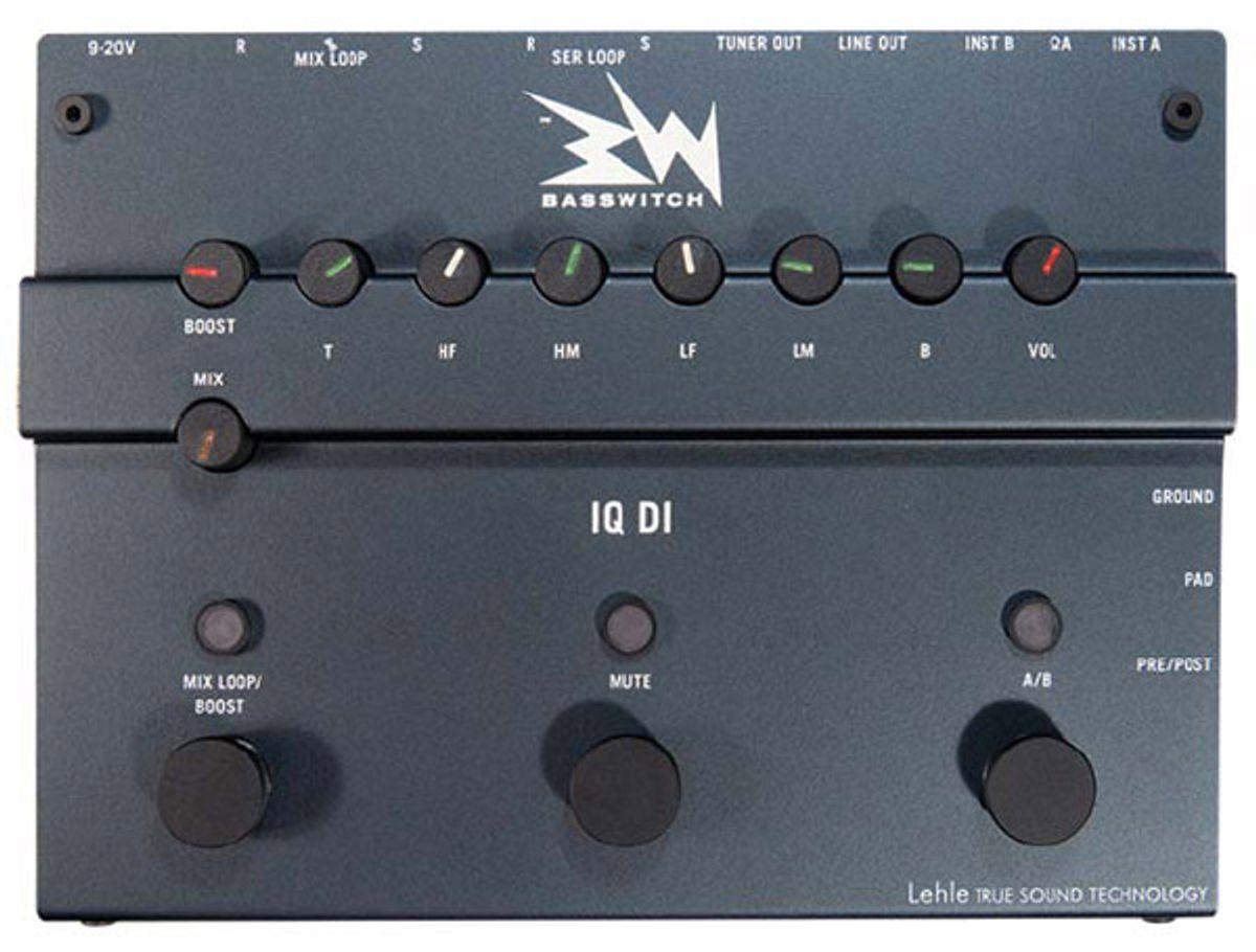 Ruppert Musical Instruments Basswitch IQ DI Review