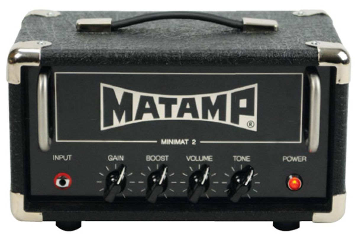 Matamp Amplification MiniMat II Amp Review