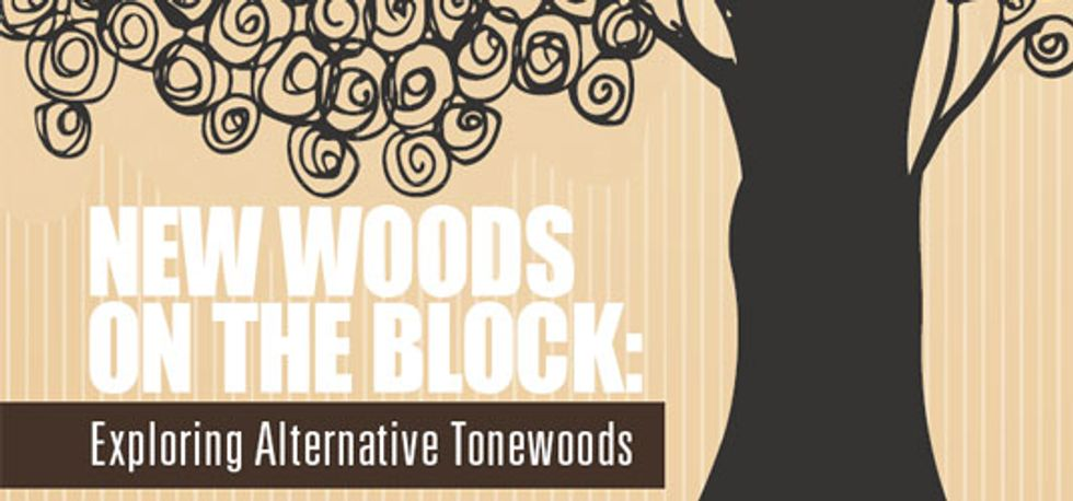 Exploring Alternative Tonewoods
