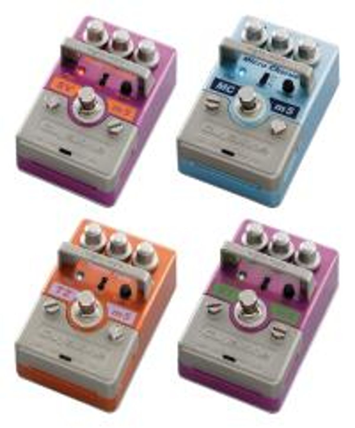 Guyatone Releases Second Batch of Mighty Micros