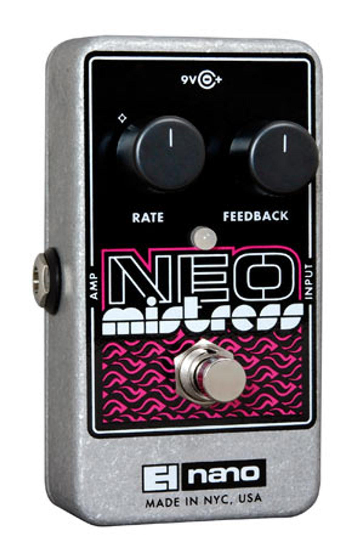 Electro-Harmonix Announces Neo Mistress Flanger