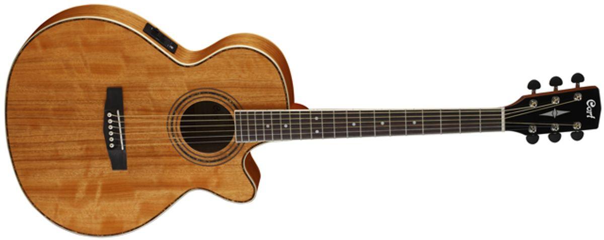 Cort Guitars Announces SFX Series Acoustic Guitars