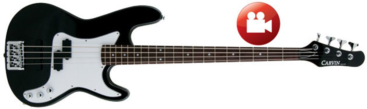Carvin PB4 Review