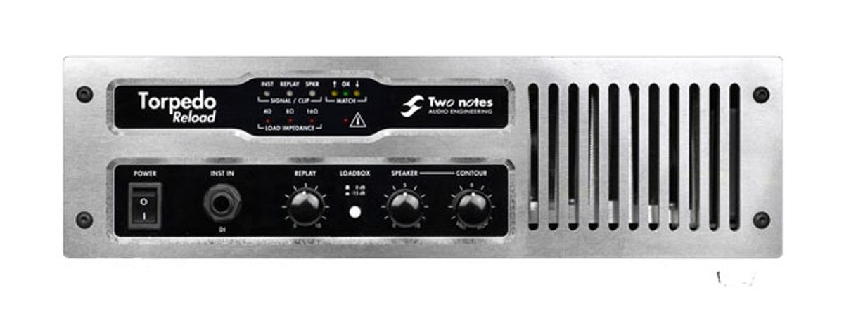 Two Notes Audio Engineering Releases Torpedo Reload