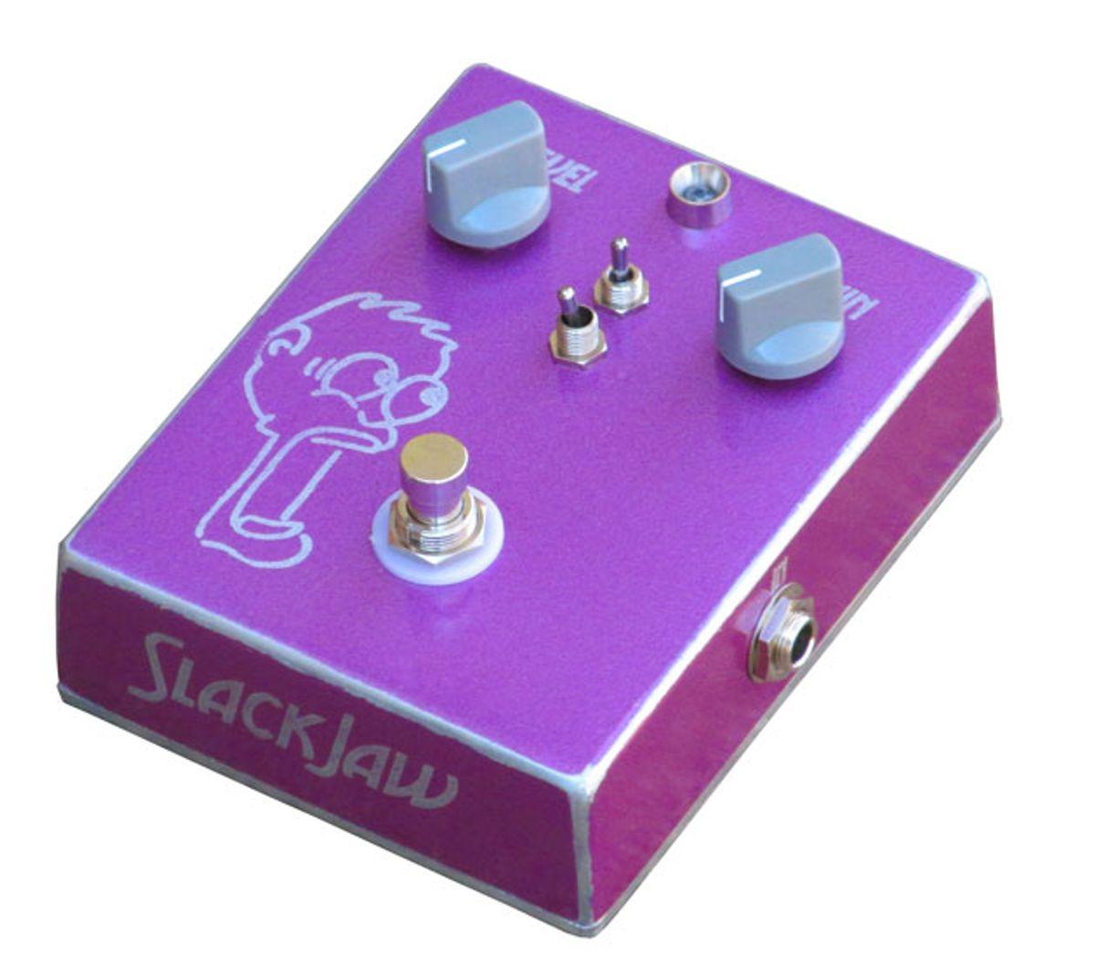 SynapticGroove Announces the SlackJaw Fuzz Pedal