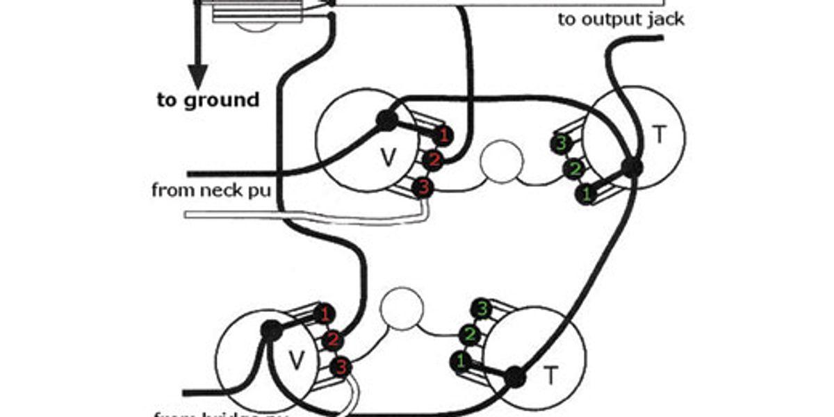 Volume Controls, Gibson 50 S Wiring Vs Modern