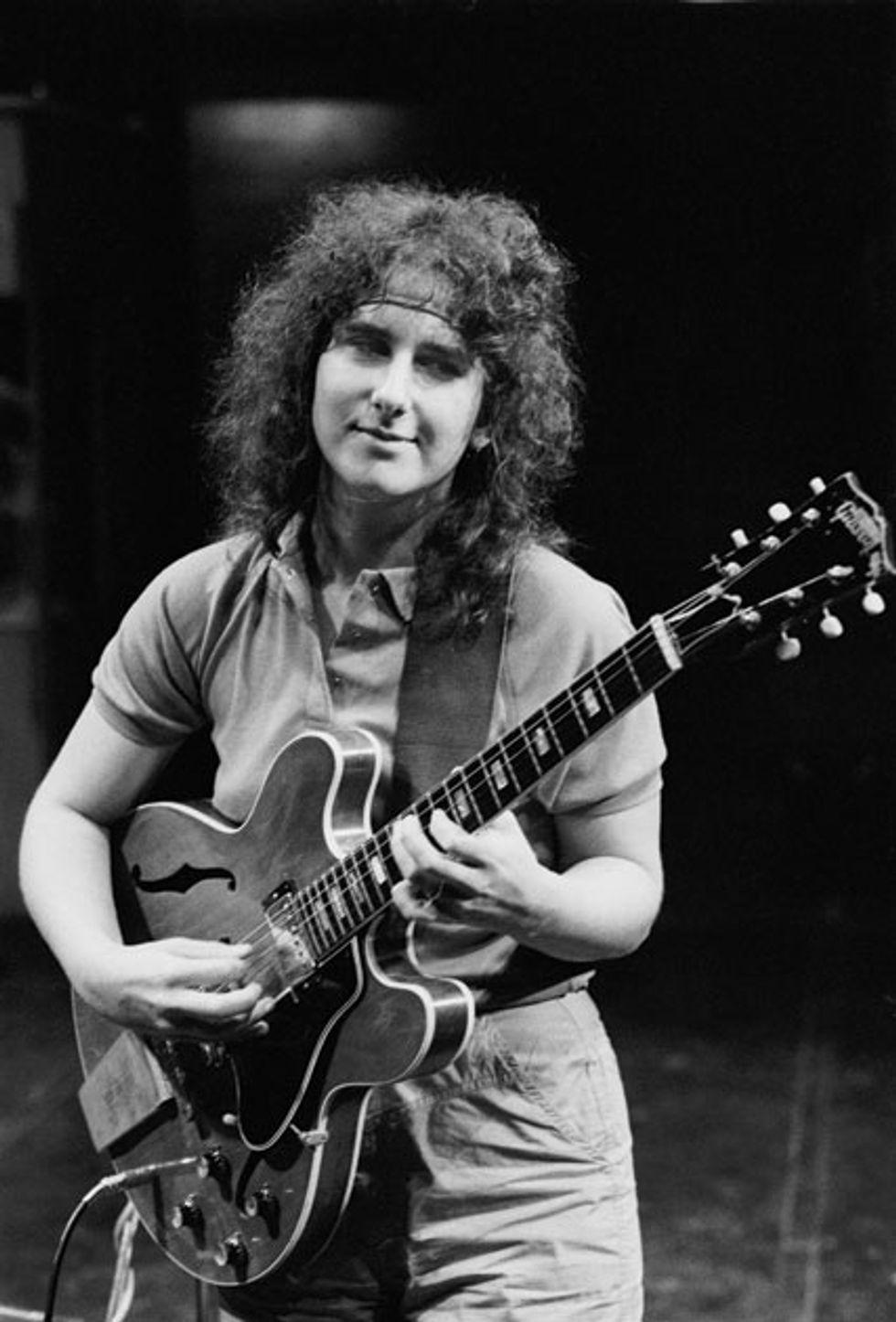Emily Remler on guitar