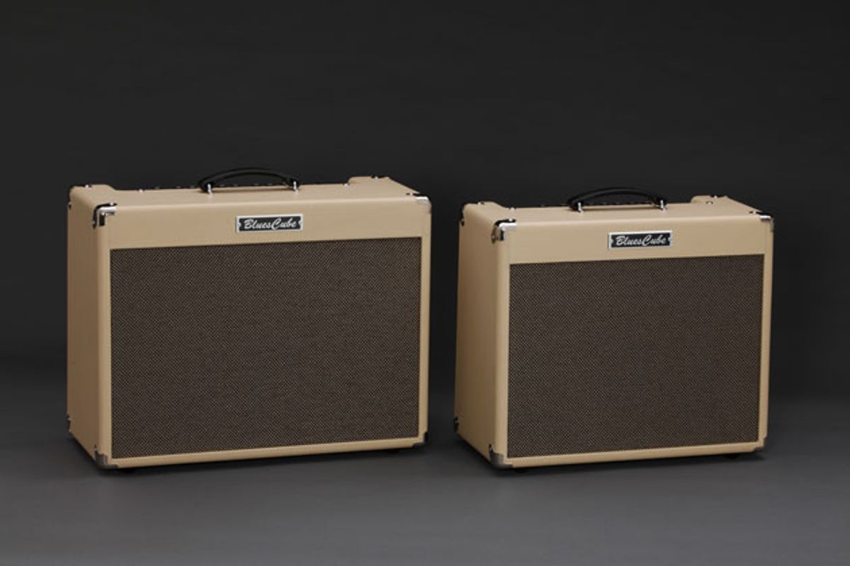 Roland Unveils the Blues Cube Artist and Blues Cube Stage Amps