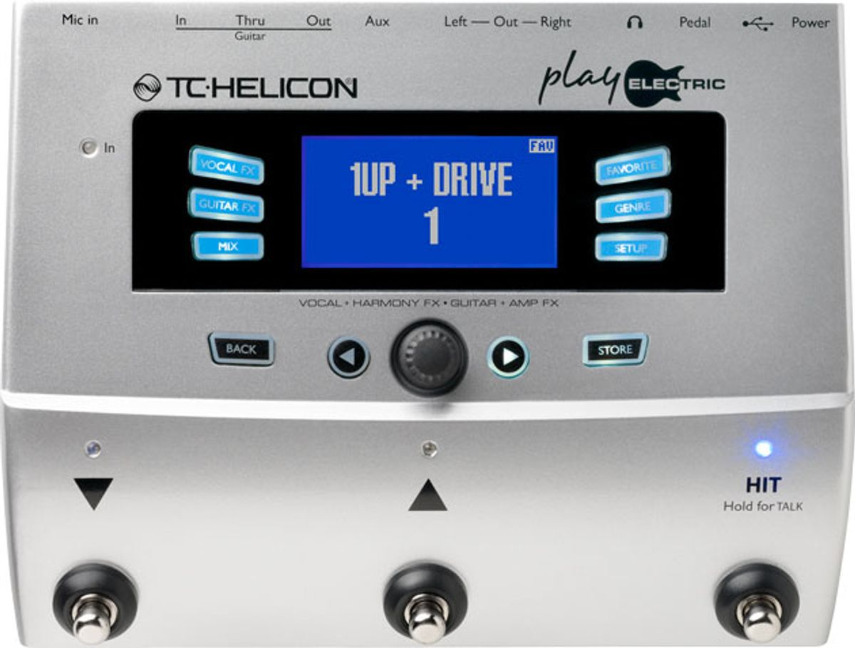 TC-Helicon Introduces the Play Electric