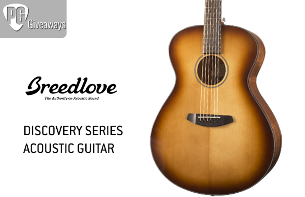 PG Giveaways: Breedlove Discovery Series Guitar