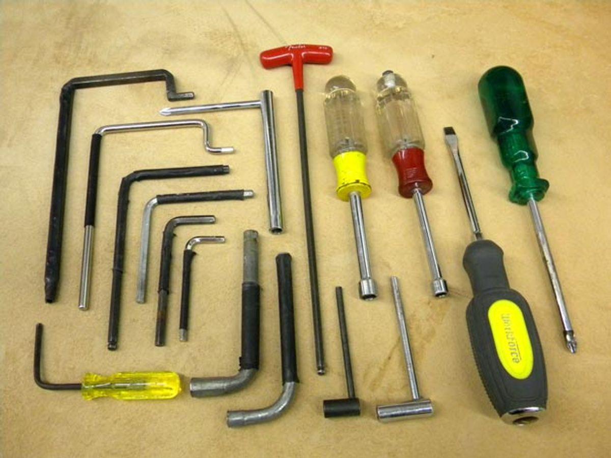 Guitar Shop 101: Demystifying Truss-Rod Tools