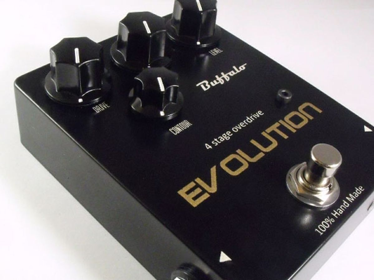 Buffalo FX Releases the Evolution Overdrive