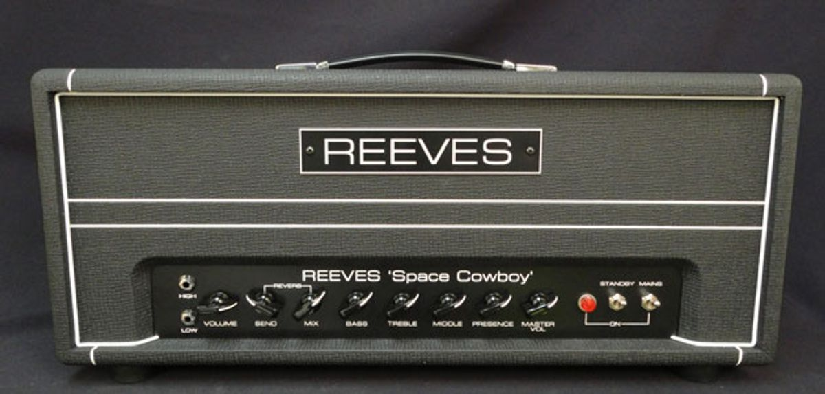 Reeves Amplification Releases the Space Cowboy